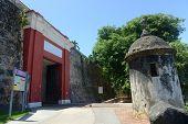 stock photo of 1700s  - San Juan Gate  - JPG