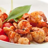 foto of tiger prawn  - Appetizers  - JPG