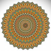 picture of ottoman  - Mandalas collection - JPG