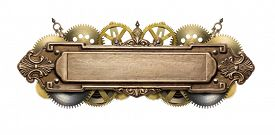 picture of steampunk  - Stylized mechanical steampunk collage - JPG