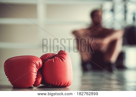 Afro American Boxer