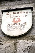 Rothenburg Ob Der Tauber, Medieval Old Town In Germany poster