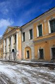 picture of olden days  - Palace of Catherine in Tver in winter Russia - JPG