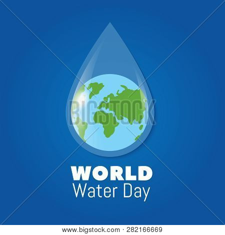 World Water Day Poster Earth