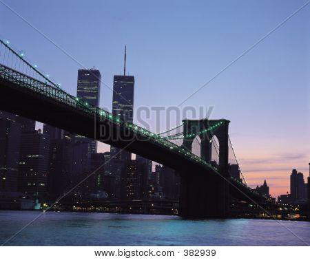 poster of Bridge In New York City