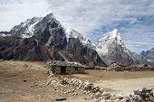 stock photo of sherpa  - sherpa farming village of dusa - JPG