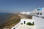 stock photo of asilah  - Atlantic coast town Asilah in Morocco - JPG