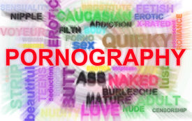 picture of pornography  - Pornography related words in illustration blur abstract - JPG