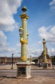Place De La Concorde In Paris City