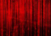 Постер, плакат: Кино или театр занавес
