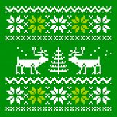 picture of knitwear  - Scandinavian ornament for use in the clothing industry - JPG
