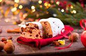 picture of hazelnut tree  - Christmas Stollen - JPG