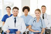 stock photo of seminar  - hospital - JPG
