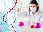 pic of chemistry technician  - science - JPG
