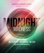 stock photo of midnight  - Midnight Madness Party - JPG