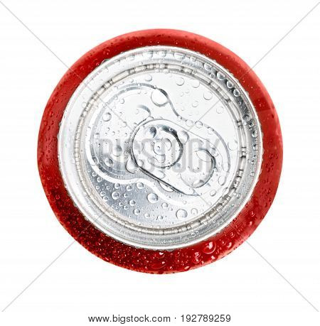 Isolated can cola