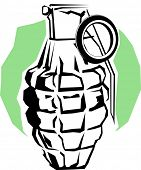 stock photo of rg  - grenade - JPG