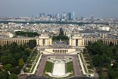 Paris,view from Eifell tower poster