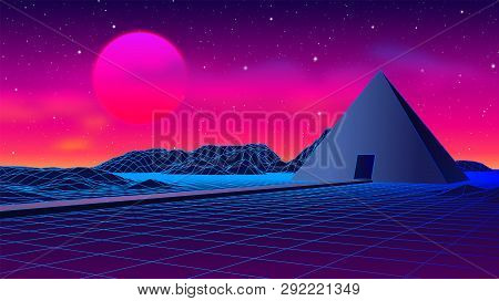 Ancient Mysterious Pyramid In 80s