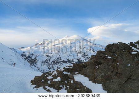 Elbrus Region A Mountain Landscape