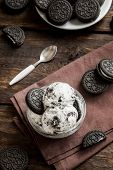 Cookies And Cream Homemade Ice Cream poster