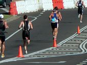 Runners In Triathlon
