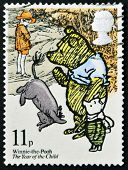 UNITED KINGDOM - CIRCA 1979: A stamp printed in Great Britain shows illustration from a children's b