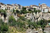 Cuenca Houses Situated On The Cliff