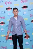 LOS ANGELES - AUG 11:  Logan Lerman at the 2013 Teen Choice Awards at the Gibson Ampitheater Univers