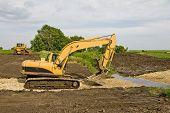 picture of dozer  - Excavator  - JPG
