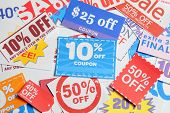 picture of coupon  - Shopping coupons - JPG
