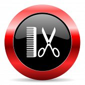 image of barber  - barber icon - JPG