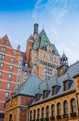 image of chateau  - Quebec City - JPG