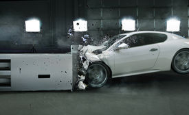 stock photo of accident victim  - Car crash - JPG
