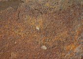 foto of oxidation  - Rusty old brown oxidized metal grunge background - JPG