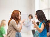 stock photo of school bullying  - bullying - JPG