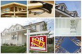 foto of real-estate agent  - Construction and Real Estate Themed Variety Collage - JPG