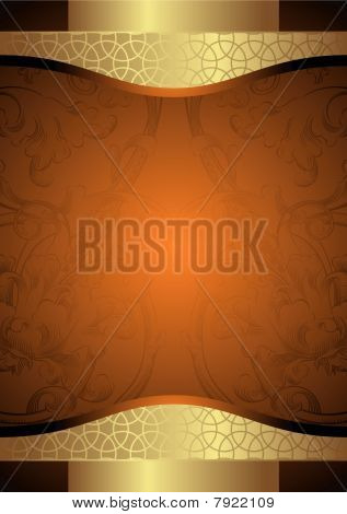 Постер, плакат: Продовольственная и напитки Label, холст на подрамнике