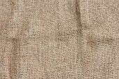 picture of sackcloth  - Closeup of natural jute sackcloth texture background - JPG
