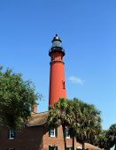 foto of florida-orange  - Lighthouse, located in central Florida, near Port Orange and Daytona Beach