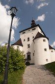 picture of banska  - The New Castle of Banska Stiavnica town Slovakia  - JPG