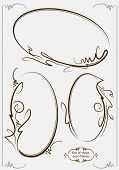picture of oval  - Beautiful collection of oval frames - JPG