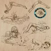 picture of breast-stroke  - SWIMMING and Water Sports  - JPG