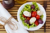 pic of black-cherry  - Fresh salad of heart of palm  - JPG
