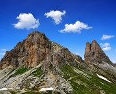 stock photo of south tyrol  - Mountain landscape  - JPG