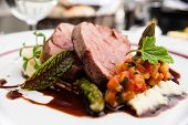 picture of parsnips  - Veal fillet with vegetable ratatouille - JPG