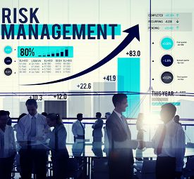 foto of risk  - Risk Management Opportunity Planning Safety Concept - JPG