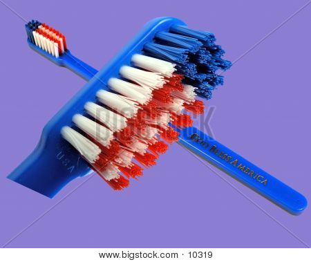 Tooth Brush Composite poster