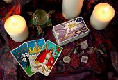 pic of pentacle  - my hand drawn version of my friendly tarot 