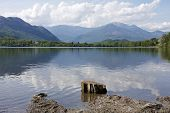 foto of piccolo  - Lagho Piccolo or the Small Lake Avigliana Italy - JPG